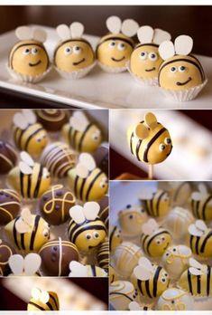 Cake Pops❤️ - bakery and desserts - - Cake Pop Rez. Süße Cake Pops❤️ - bakery and desserts - - Cake Pop Rezeptes - Süße Cake Pops❤️ - bakery and desserts - - Cake Pop Rezeptes - Bee Cakes, Cupcake Cakes, Owl Cupcakes, Cookies Et Biscuits, Cake Cookies, Bee Cake Pops, Decoration Patisserie, Cake Ball, Easter Recipes