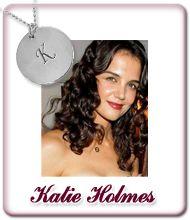 Katie Holmes Initialen Kette