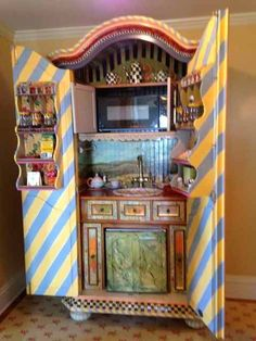 Hand Painted Armoire   Google Search