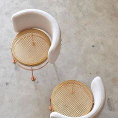 Chairs designed by Brazilian designer, Gustavo Bittencourt.