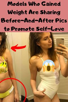 Models Who Gained Weight Are Sharing Before-And-After Pics to Promote Self-Love Yoga Benefits, Health Benefits, Weird Stories, Before And After Pictures, Stay Young, Weird World, Funny Faces, Weight Gain, Funny Photos