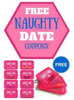 I love to surprise my man with all sorts of sexy gifts. One of the favorite gifts that I gave him recently is a super naughty and nice set of Date Coupons for him to redeem throughout the year. Don't worry! These coupons can be used for your girl too!