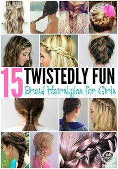 15 Fun Braid Hairstyles for Girls - Kids Activities Blog