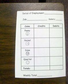 2nd Grade with Miss Preskitt: Classroom Economy