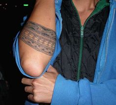 New Forearm Band Tattoos New Style for Guys 2011