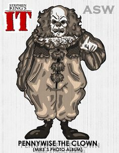 Pennywise Vintage Stephen King`s IT FanArt by AlexGangster20Comic on DeviantArt