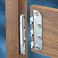 5'' Surface Mounted Bed Rail Brackets:site with bed rail hardware for when we build boys beds.