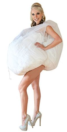 Ladies Bianco Full Slip Taglia 20//22