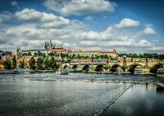 Charles Bridge And Prague Castle by Alistair Ford Charles Bridge, Prague Castle, Travel Images, Ford, Ford Trucks, Ford Expedition