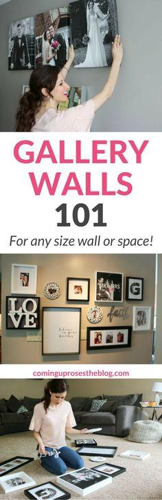gallery wall, gallery walls, gallery wall ideas, gallery wall layout, gallery walls living room, gallery walls bedroom, how to make a gallery wall