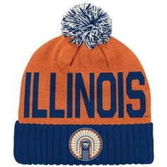 355527de894f7 Compare prices on Illinois Illini Pom Hats from top online fan gear  retailers. Save money when buying team logo winter hats.