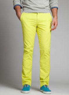 Loving these Bonobos yellow pants. Can i pull it off?