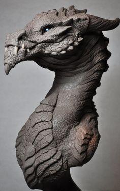 Goliath Dragon Bust Creature Sculpt 2 Beast by AntWatkins on deviantART
