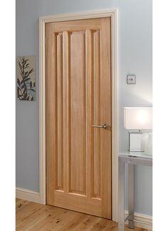 Kilburn Oak Internal Doors | Oak Doors | Wooden Doors | Magnet Trade Doors And Floors, Bedroom Doors, Pine Doors, Oak Doors, Entrance Doors, Door Furniture, Doors Galore, Traditional Doors, Brown Doors