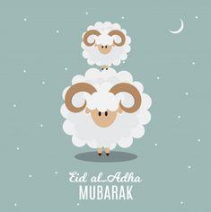 Eid al-adha, kurban bayrami muslim festi... | Premium Vector #Freepik #vector #islamic #ramadan #celebration #festival
