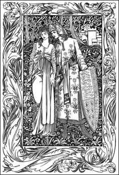 Will Bradley (1868-1962); Shards of the Silver Sword, c. 1902