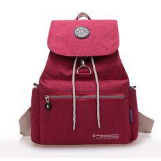 Sale onNew Casual Women Backpack Waterproof Nylon 10 Colors Girl Lady  Women s Backpacks Travelbag 7719f8b03eac2