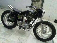 Off road Enfield Bullet