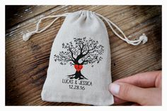 Personalized ring bearer bag Wedding ring bag by Tulito on Etsy