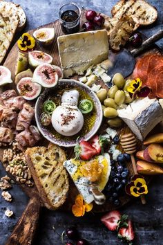 I could eat this cheese board all summer long. The post Simple Summer Cheese Board. appeared first on Half Baked Harvest. Plateau Charcuterie, Charcuterie And Cheese Board, Cheese Boards, Cheese Platters, Food Platters, Fingers Food, Antipasto Platter, Tapas Platter, Think Food