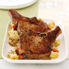 Roasted Pork Chops