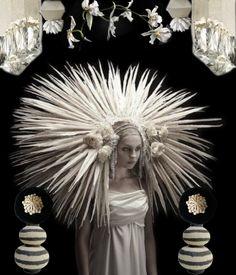 White Pheasant - erstellt von Lisa Laqua mit Bazaart #Kollage