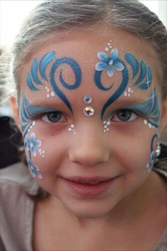 blue glitter eye art makeup designs - Google Search