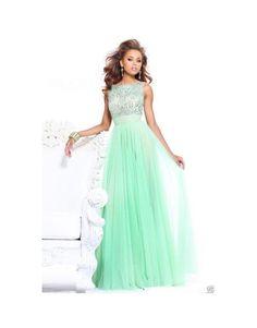 luxusní tyrkysové zelené plesové šaty na maturitní ples Paolina S - Hollywood Style E-Shop
