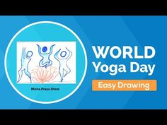 Drawing hum fit toh india fit poster making | easy drawing on yoga | International Day of Yoga 2021 - YouTube World Yoga Day, Drawing Competition, Yoga International, United Nations General Assembly, Poster Making, Easy Drawings, The Creator, India, Fitness