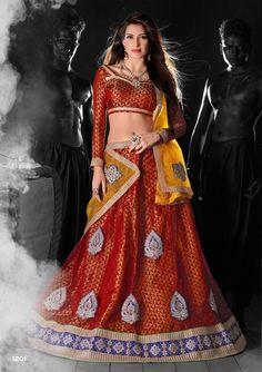 996a1f28f AASVAA Beautiful Multi Color Lehenga Choli With New Fabirc Dupatta Lehenga  Choli Latest