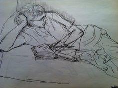 Glen taking a reading break