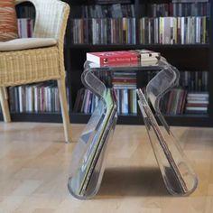 Shop the modern and stylish Umbra OH Chair designed by Karim Rashid. Karim Rashid, Design Shop, House Design, Acrylic Side Table, Multipurpose Furniture, Side Table With Storage, Metal Floor, Bar Seating, Office Decor