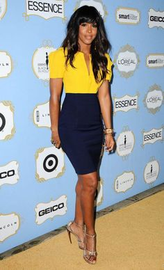 Kelly Rowland arrives at the sixth annual Essence Black Women in Hollywood luncheon on Feb. Kelly Rowland Style, Skirt Outfits, Cute Outfits, Moda Formal, Inspiration Mode, Business Outfits, Work Attire, Beautiful Black Women, Look Fashion