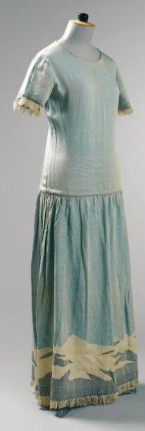 1920 - Poiret. Silk.