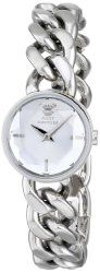 Juicy Couture Women's 1901145 Sophia Stainless Steel Watch with Link Bracelet