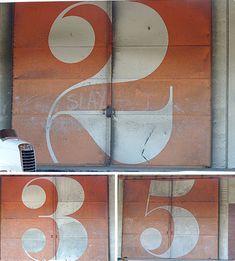 Handpainted signage.