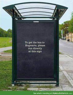 Bus to hogwarts