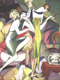 Jeanne Mammen German artist | by lilikk