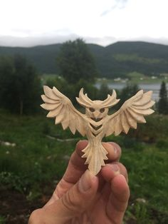 Owl pendant by JonasOlsenWoodcraft