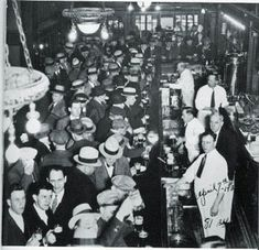 The speakeaisies were created in the 1920s during the prohibiton, they were where people could hangout sort of like a bar. This is significant because everyone used speakeasies to get there alcohol fix.