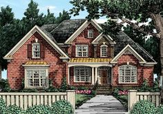 Sterling Heights - Home Plans and House Plans by Frank Betz Associates