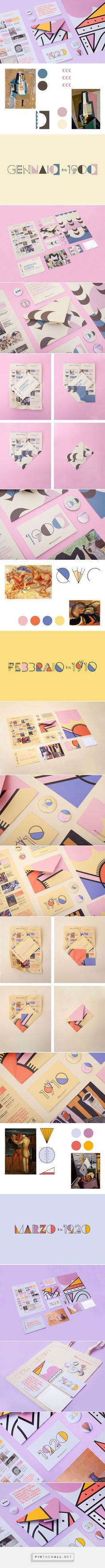 Museo del 900 – Yearly programme on Behance by Alice Donadoni
