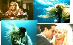 amazing movie mermaids so hot right now Splash Movie, Movie Collage, Daryl Hannah, Tom Hanks, Good Movies, Tv Series, Toms, Mermaids, Amazing