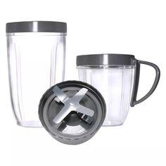 Magic Bullet Nutribullet - 5-Piece Cup and Blade Replacement Set $10.52 FS Prime (Deluxe Upgrade Kit) #LavaHot http://www.lavahotdeals.com/us/cheap/magic-bullet-nutribullet-5-piece-cup-blade-replacement/201417?utm_source=pinterest&utm_medium=rss&utm_campaign=at_lavahotdealsus