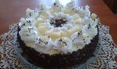 Ananásová trasená torta