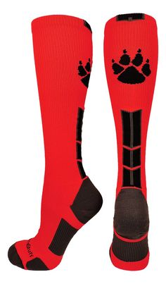 f9557a49e74f Wild Paw Over the Calf Socks (multiple colors)
