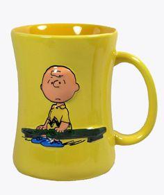 Camp Snoopy Charlie Brown Mug