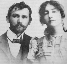 Stanisław Przybyszewski i Dagny Juel, fot. wagrowiec1381.wordpress.com