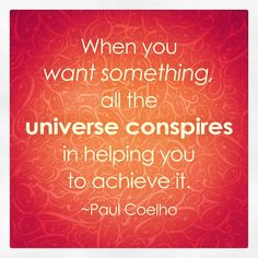 Want something *meaningful* and the universe will serve it up with an all-you-can-eat side of happiness.