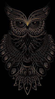Coruja Arte VitralYou can find Owl art and more on our website. Owl Wallpaper Iphone, Dark Wallpaper, Cellphone Wallpaper, Galaxy Wallpaper, Owl Tattoo Drawings, Art Drawings, Tattoo Art, Owl Artwork, Owl Tattoo Design